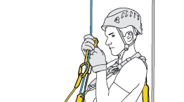 Long or short rope ascent