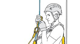 Lunga o breve risalita su corda
