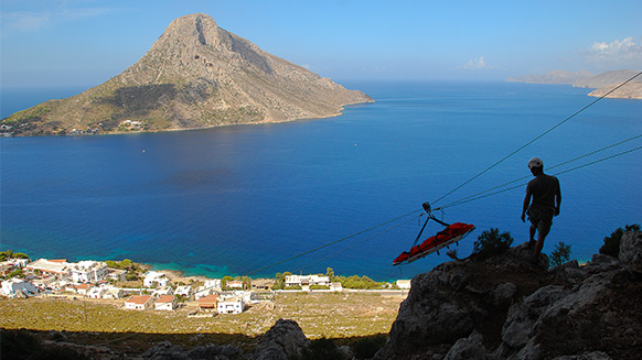 Rescue services operational in Kalymnos!