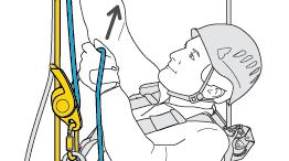 Remontée occasionnelle sur corde avec I'D