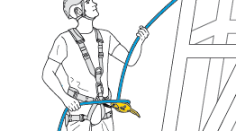 Belaying the leader on dynamic rope using climbing techniques