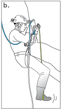 Take up the slack rope 3