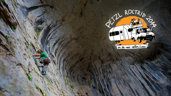 Video screenshot:Petzl RocTrip 2014 - Ep2 - Bulgaria, Vratsa, Karlukovo