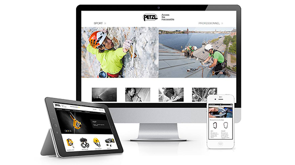 The brand new petzl.com: a guided tour