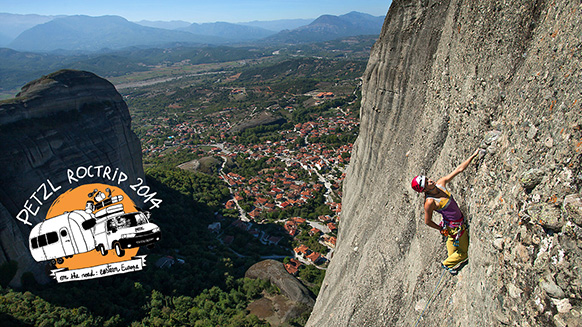 Petzl RocTrip 2014 - Ep4 - Meteora, Greece