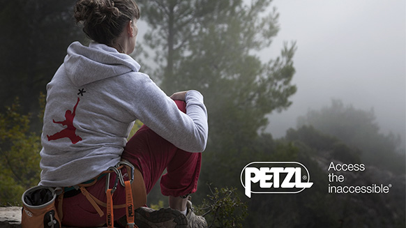 Video screenshot:Final video for the BE A PETZL STAR contest