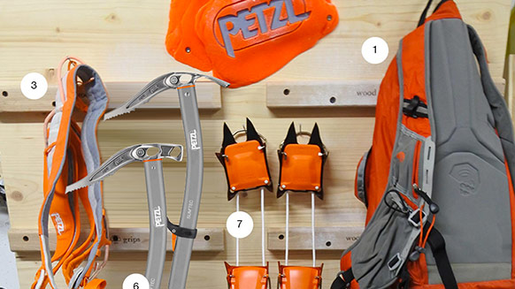 What's in Ueli Steck's Pack?