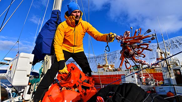 How to pack the right gear for a 7-month mountaineering expedition on a boat