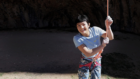 Petzl athlete Ashima Shiraishi sends 9a/+ at age 13 !!