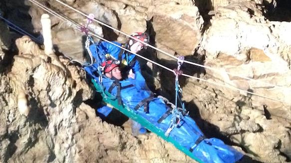 13. internationales Höhlenrettungs-Treffen