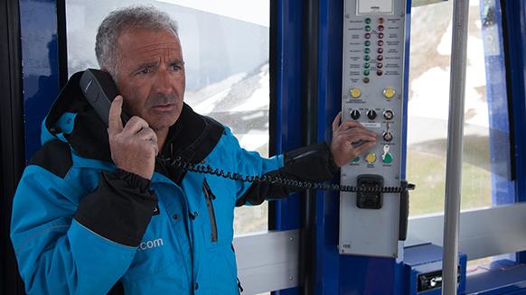 Découvrez la procédure d'évacuation du téléphérique du Pic du Midi !