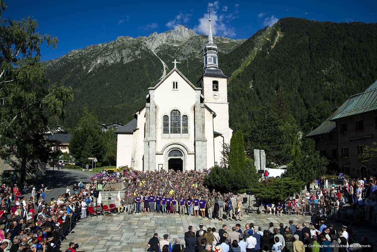 Super News - Petzl La vallée de Chamonix en fête avec la Compagnie des @MV_55