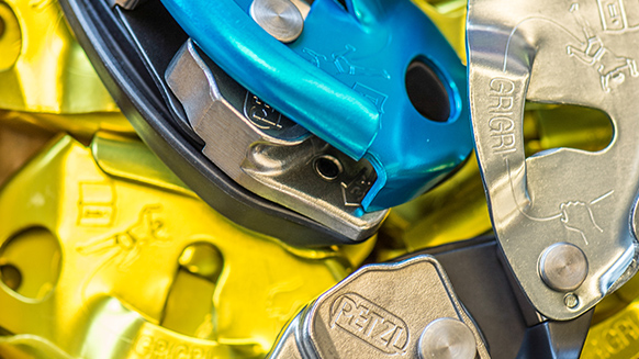 The GRIGRI belay device: a concept that forever changed climbing