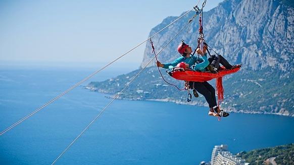 Mountain rescue festival - Crimea Rescue Fest 2015