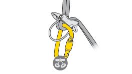 Choix de mousquetons pour connecter VERSO, REVERSO au harnais