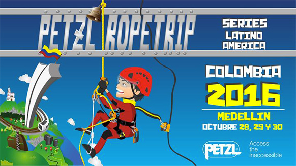 Video screenshot:Petzl RopeTrip Colombia 2016