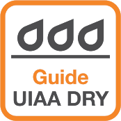 UIAA Guide Dry Treatment picto