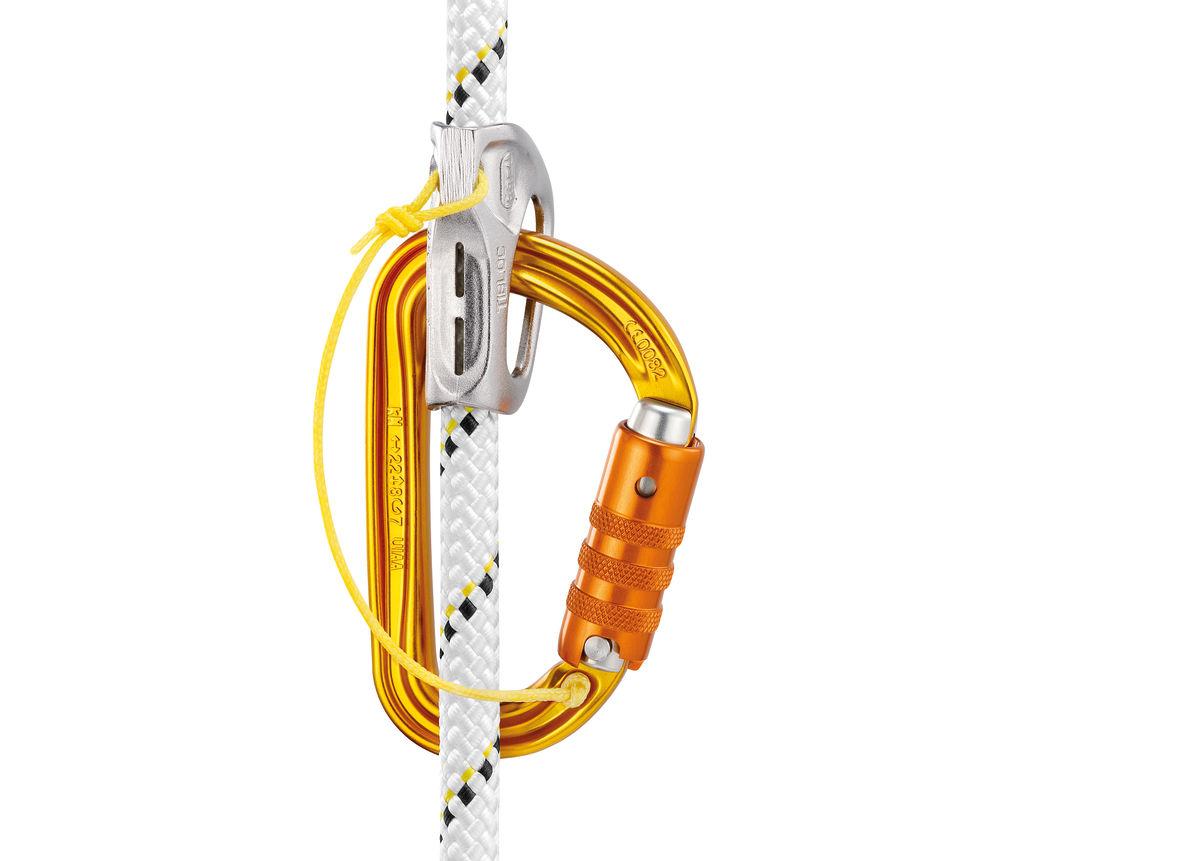 PETZL SM/'D Wall Schraubkarabiner One Size Yellow