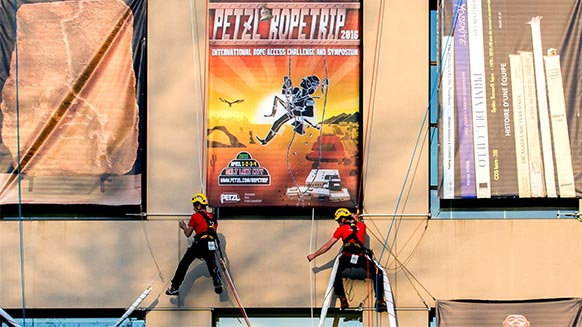 Video screenshot:Petzl RopeTrip 2016 - Salt Lake City - USA