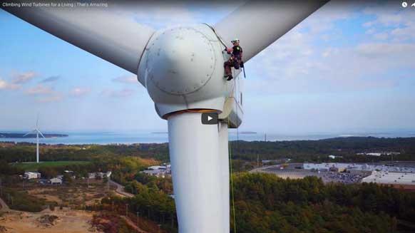 Wind Turbine Climbing