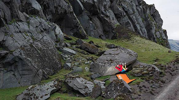 Island: Klettern im Land der Kontraste
