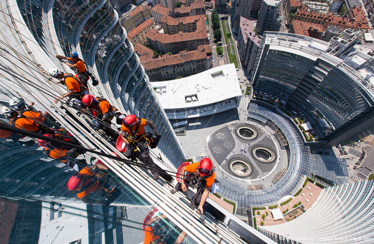 © Petzl - Vuedici.org - Uncredit Tower - Rigger Italia