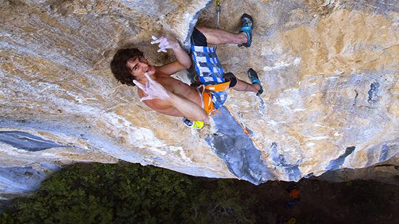 10 photos… d'acrobaties du team Petzl