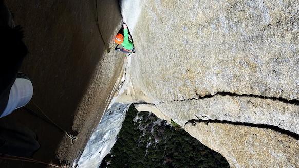 Freie Begehung der Muir Wall am El Capitan