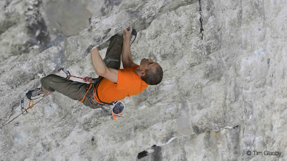 Steve McClure Completes His Project 'Rainman' 9b
