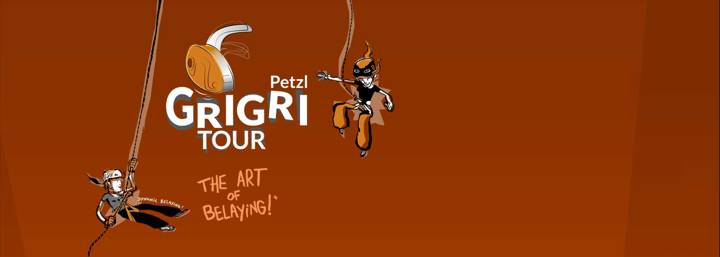 PETZL GRIGRI TOUR, the art of belaying
