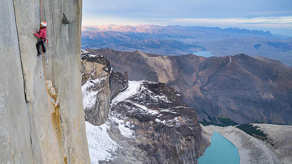 "Patagonia: Mayan Smith-Gobat tests her mettle on ""Riders on the Storm"""