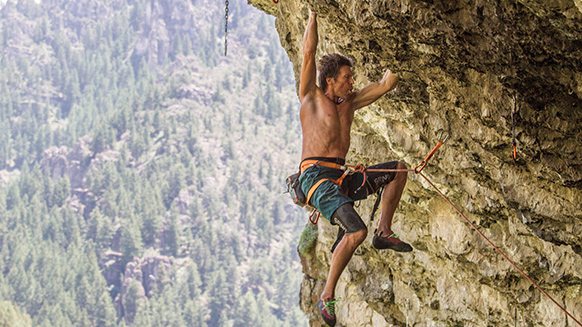 Bulletproof Monk - Chuck Odette Climbing 5.14 At Age Sixty-One