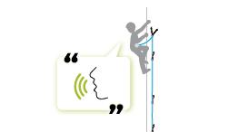 Kommunikation beim Klettern