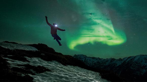 ScreenshotKilian Jornet al cospetto delle Northern Lights