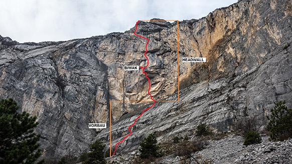Hängemattenbiwak im 120m Überhang: Solo am Monte Brento
